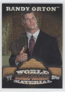 2010 Topps WWE - World Championship Material #W10 - Randy Orton