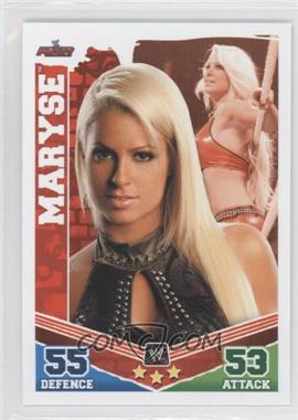 2010 Topps WWE Slam Attax Mayhem - [Base] #MA - Maryse