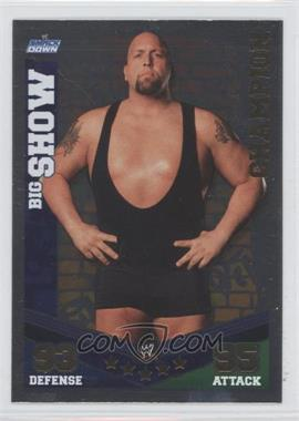 2010 Topps WWE Slam Attax Mayhem - Champions #BISH - Big Show