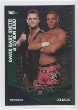 2010 Topps WWE Slam Attax Mayhem - Champions #DSTK - David Hart Smith & Tyson Kidd