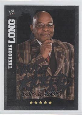 2010 Topps WWE Slam Attax Mayhem - General Managers #N/A - Theodore Long