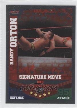 2010 Topps WWE Slam Attax Mayhem - Signature Moves #RAOR - Randy Orton