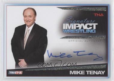 2011 TRISTAR TNA Signature Impact Wrestling - Autographs - Gold #S45 - Michael Tenay /25