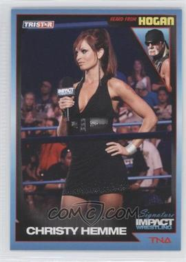 2011 TRISTAR TNA Signature Impact Wrestling - [Base] #84 - Christy Hemme