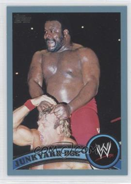 2011 Topps WWE - [Base] - Blue #109 - Junkyard Dog /2011