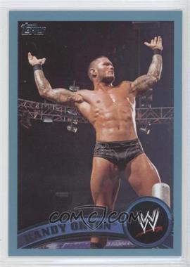2011 Topps WWE - [Base] - Blue #2 - Randy Orton /2011