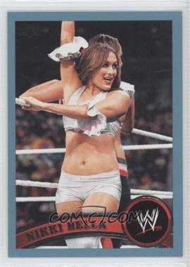 2011 Topps WWE - [Base] - Blue #37 - Nikki Bella /2011