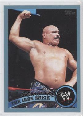 2011 Topps WWE - [Base] - Blue #94 - The Iron Sheik /2011