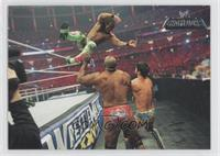 Wrestlemania XXVII - Big Show, Kane, Santino Marella, Kofi Kingston