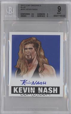 2012 Leaf Originals Wrestling - [Base] - Blue #KN1 - Kevin Nash /25 [BGS9]