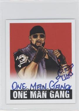 2012 Leaf Originals Wrestling - [Base] - Red #OMG - One Man Gang /10