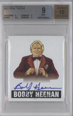 2012 Leaf Originals Wrestling - [Base] #BH1 - Bobby Heenan [BGS 9]