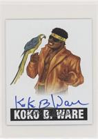 Koko B. Ware (Blue Ink)