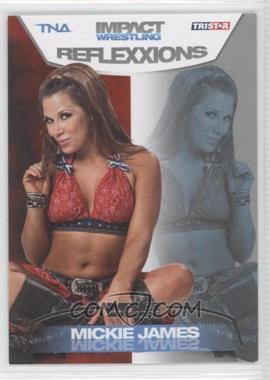 2012 TRISTAR TNA Impact Wrestling Reflexxions - [Base] - Silver #19 - Mickie James /40