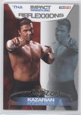 2012 TRISTAR TNA Impact Wrestling Reflexxions - [Base] - Silver #30 - Kazarian /40