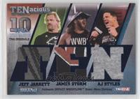 Jeff Jarrett, James Storm, AJ Styles /50