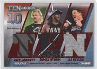 Jeff Jarrett, James Storm, AJ Styles /10