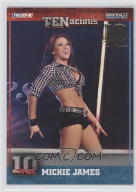 2012 TRISTAR TNA TENacious - [Base] - Gold #21 - Mickie James /10