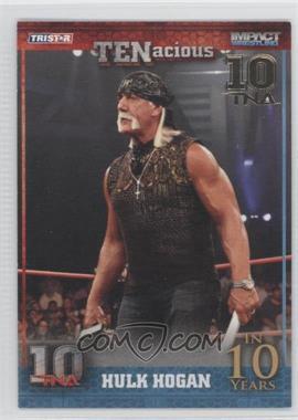 2012 TRISTAR TNA TENacious - [Base] - Gold #86 - Hulk Hogan /10