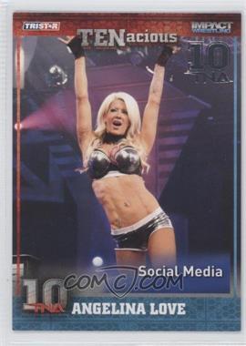 2012 TRISTAR TNA TENacious - [Base] - Silver #62 - Angelina Love /30