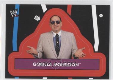 2012 Topps Heritage WWE - Stickers #11 - Gorilla Monsoon