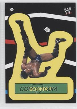 2012 Topps Heritage WWE - Stickers #15 - Booker T