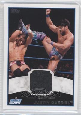 2012 Topps WWE - Shirt Relics #JUGA - Justin Gabriel