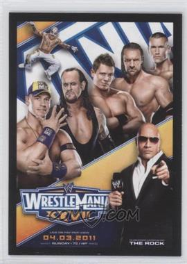 2012 Topps WWE - World Class Events #1 - Wrestlemania XXVII