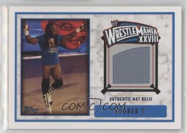 2012 Topps WWE - Wrestlemania XXVIII Mat Relics #BOT - Booker T