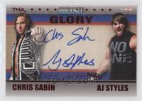 Chris Sabin, AJ Styles /50