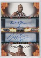 Kurt Angle, Wes Brisco /50