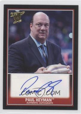 2013 Topps Best of WWE - Authentic Autographs #N/A - Paul Heyman