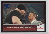 Big Show knocks out Mr. McMahon