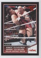 Ryback defeats Brad Maddox in a million-dollar contract match