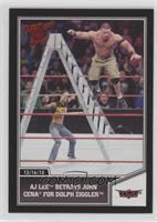 AJ Lee Betrays John Cena for Dolph Ziggler