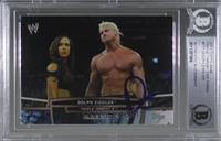 Dolph Ziggler [BAS Certified Encased by BGS]