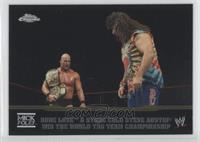 Dude Love & Stone Cold Steve Austin Win the World Tag Team Championship