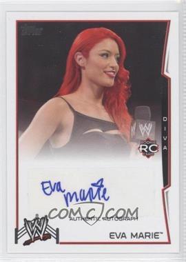 2014 Topps WWE - Autographs #EVMA - Eva Marie