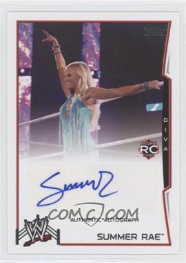 2014 Topps WWE - Autographs #SURA - Summer Rae