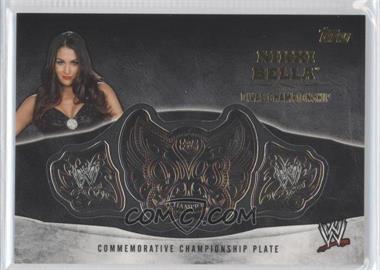 2014 Topps WWE - Commemorative Plate #NIBE - Nikki Bella