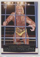 WWE Champion Hulk Hogan defeats King Kong Bundy in a steel cage match