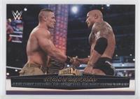 John Cena Defeats The Rock for the WWE Championship