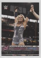 Trish Stratus Defeats Victoria and Jazz for the Women's Championship