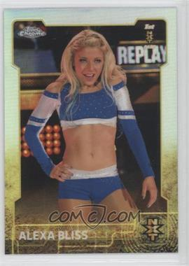 2015 Topps Chrome WWE - [Base] - Refractor #92 - Alexa Bliss