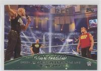 Hulk Hogan, Stone Cold Steve Austin and The Rock Open Wrestlemania 30