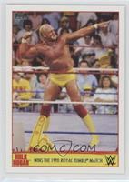 Wins the 1990 Royal Rumble Match