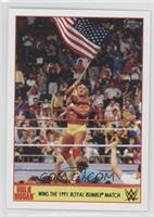 Wins The 1991 Royal Rumble Match