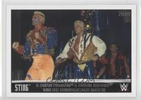 Sting & Brian Pillman & Dustin Rhodes Win the Thundercage Match