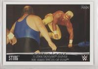 Sting & Hulk Hogan Defeat the Three Faces of Fear