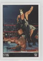 Sting Faces Booker T in a WCW Championship Match